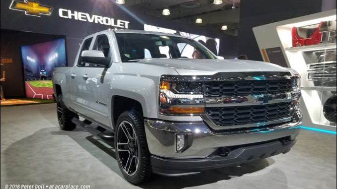 2019 chevy pickup