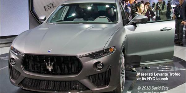 NYC Maserati Levante Trofeo launch