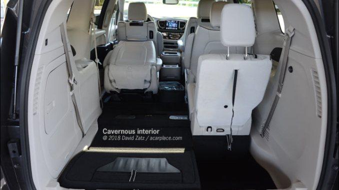 minivan cargo bay
