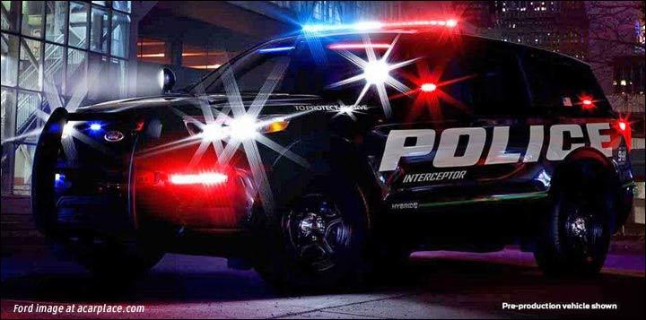 2020 Ford Explorer police car