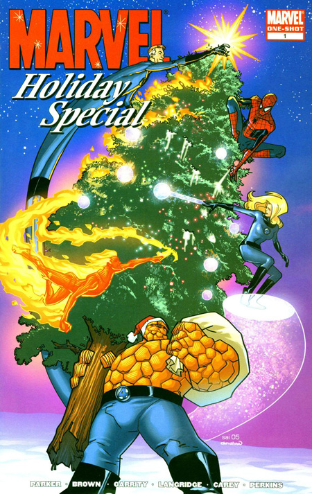 Dec 16 A Merry Marvel Christmas A Cartoon Christmas