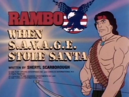 Image result for rambo cartoon