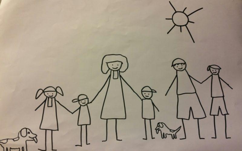 A casa di Raffy vita e avventure di una famiglia numerosa