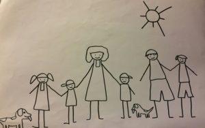 Giornata tipo di una mamma da 5 (con cani e marito) che cerca di mantenere un aspetto decente/presentabile