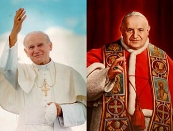Canonization of Two Popes on Divine Mercy Sunday