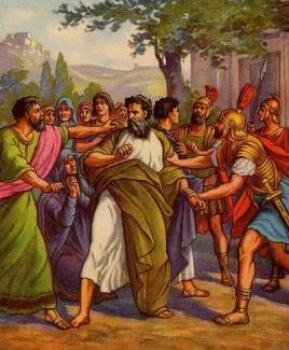 Saint Paul's Arrest
