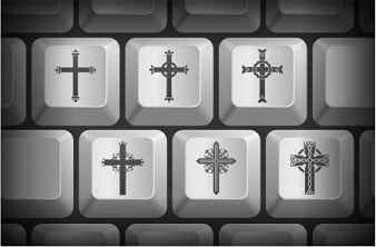 Crosses on a Computer Keyboard
