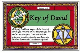 Dec 20 Key of David