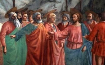Jesus and His Apostles
