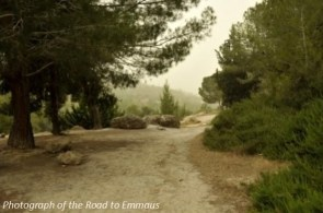 Road to Emmaus caption