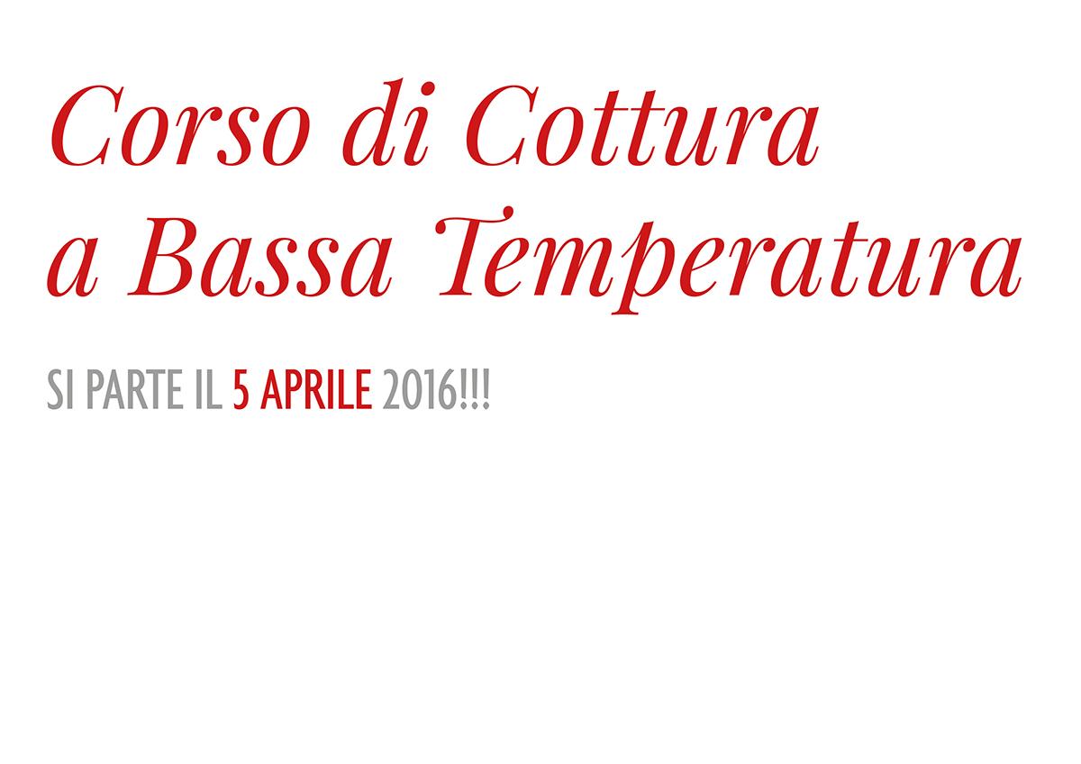 Corso di Cottura a Bassa Temperatura secondo Roberto Petza