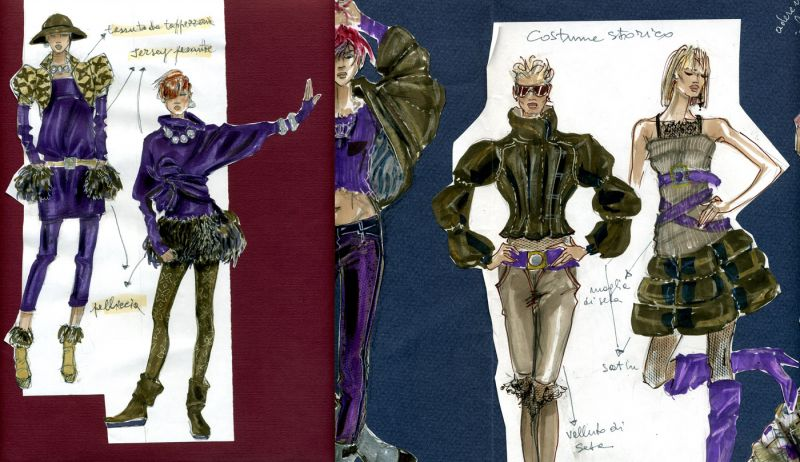 Summer course in fashion illustration   Accademia Italiana SUMMER COURSE IN FASHION ILLUSTRATION accademia italiana