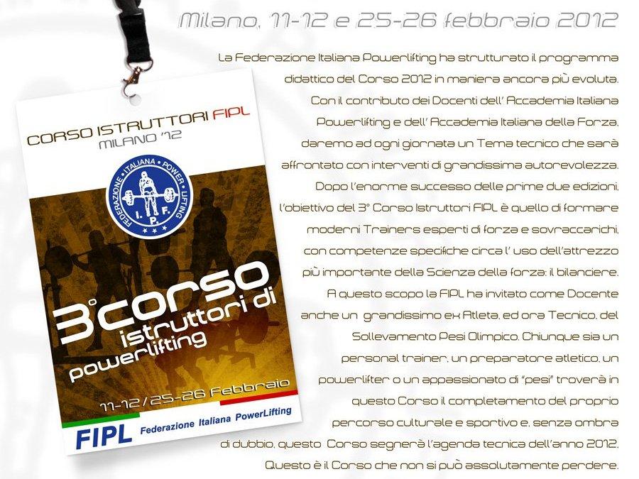 FIPL CERTIFICATION 2012