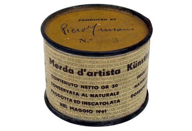 """KANDINSKY, PIERO MANZONI E LA """"MERDA D'ARTISTA"""""""