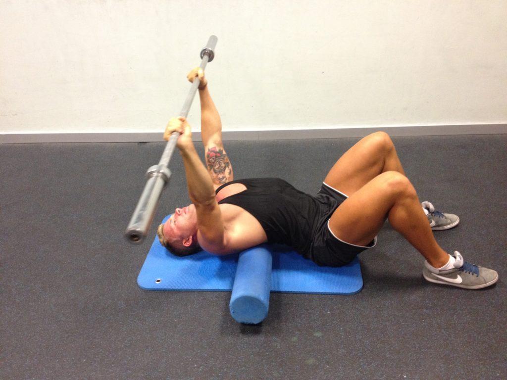 Bench Press Stretching