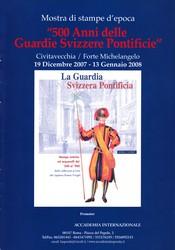 500 Anni delle Guardie Svizzere Pontificie