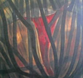 olio su tela - cm 120 x 120