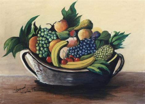 Frutta - olio su tela 50x70 (Small)