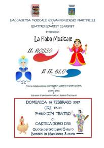 La Fiaba Musicale Il Rosso e il Blu 2017