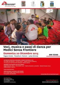 Voci, musica e passi di danza per Medici Senza Frontiere 2015