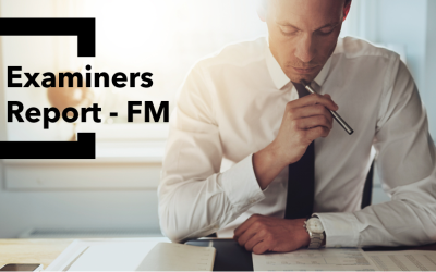 Uncovering Examiners report – FM Tuesday 28th July  2020