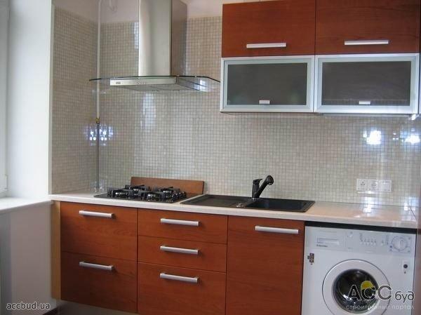 Кухни в хрущевке на фото, хай тек , кухни с барной стойкой ...