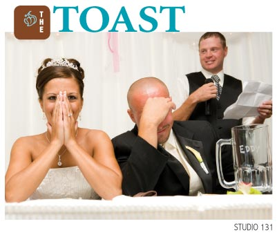 Presenters Need To Be Careful When They Give A Toast!