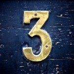 A public speaker's favorite number is the number 3…