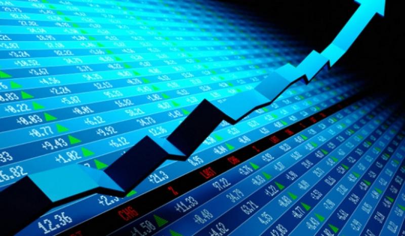 grafik saham