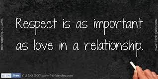 Why Is Respect Important In A Relationship