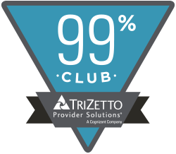 Accelerated Medical member of the TriZetto 99% Club for medical billing