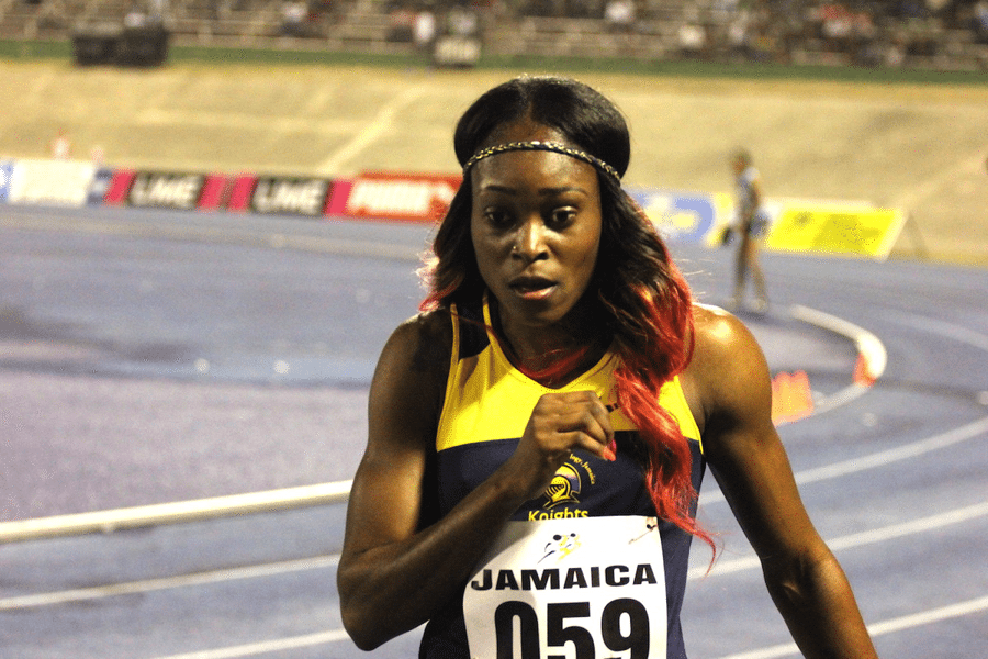 jamaican runner elaine thompson