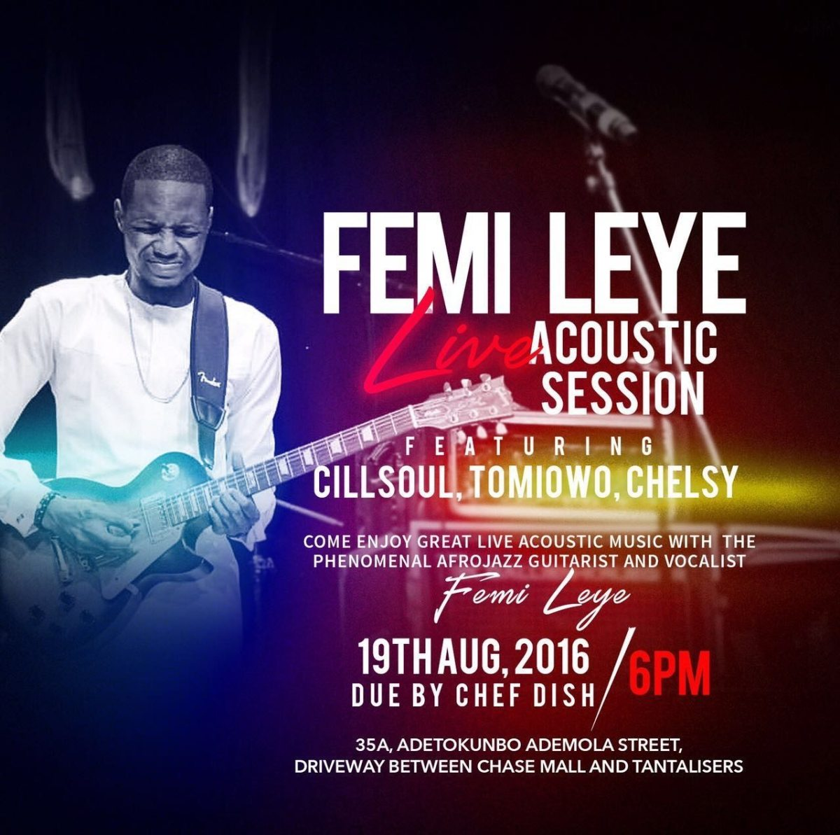 femi leye acoustic session