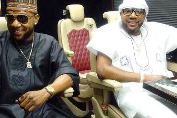 Kcee sponsors e-money's wedding