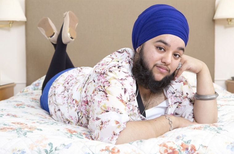 Harnaam Kaur The Bearded Lady