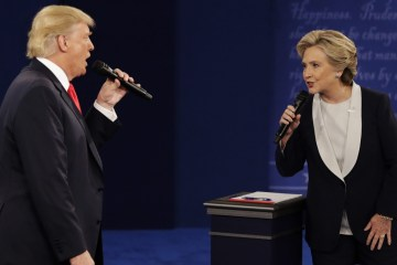 donald trump and hilary clinton debate