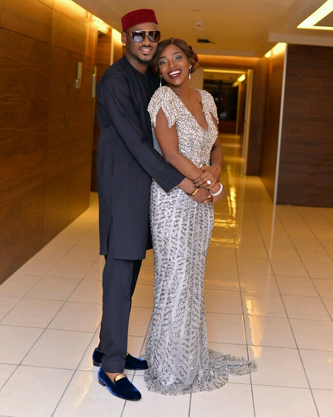 2Face and wife