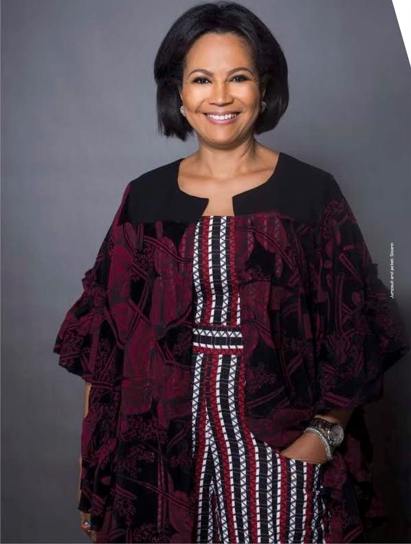 Adenike Ogunlesi, Nigeria: Founder of Ruff 'n' Tumble, a children's clothing label.