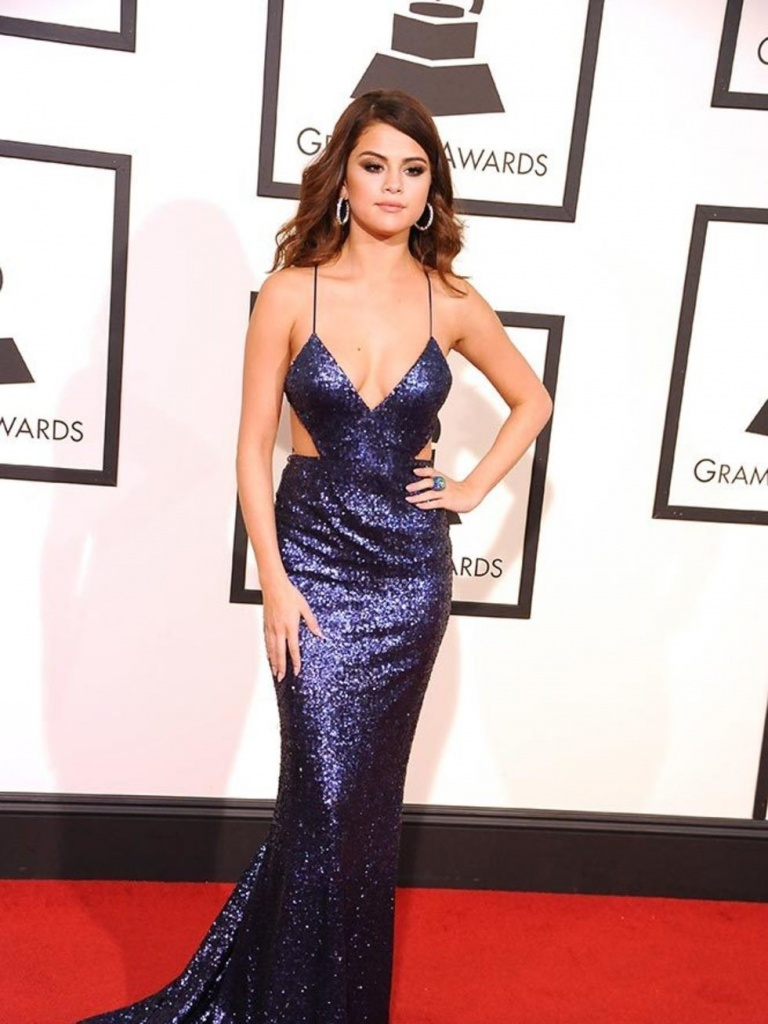 Selena Gomez At The Grammy Awards In L.A February 2016