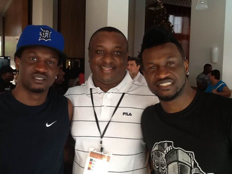 PSquare with their Lawyer