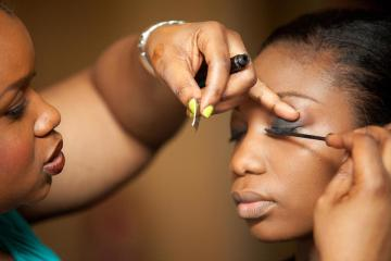 Photo: Dayo Adetiloye Makeup School