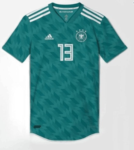 Germany's away jersey