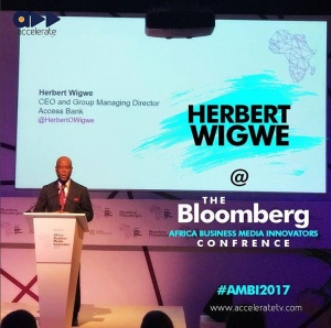 Herbert Wigwe at Bloomberg