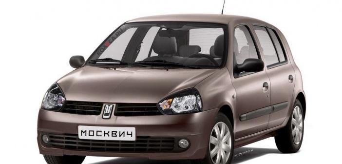 Kas selline võiks välja näha uus Renault Moskvich? Idee pakkus välja venelaste autoajakiri Za Ruljom