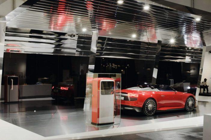 Audi e-laadimisjaam