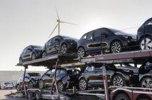 BMW i3 treileril
