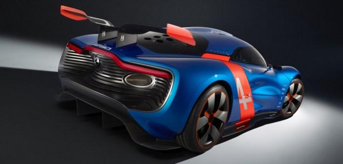 Renault Alpine Concept rear