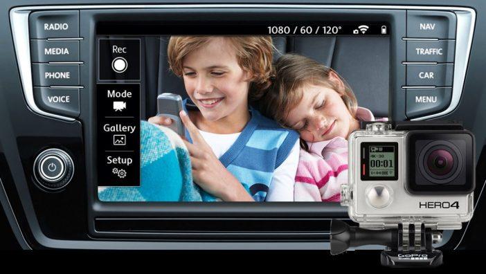 Lapsevanemad saavad multimeedia lingi abil kuvada ekraanile tagaistmel toimuva
