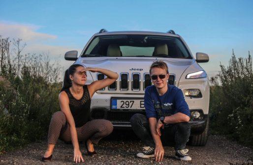 Jeep Cherokee proovisõit