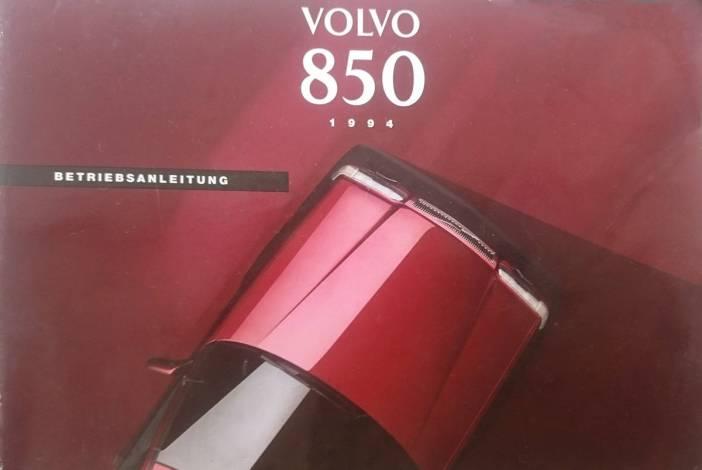 Volvo 850 kasutusjuhend